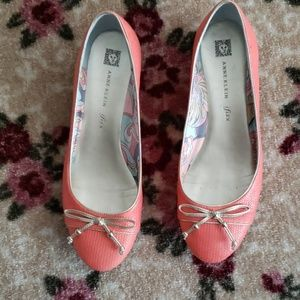 Anne Klein iflex Flat Coral Shoes